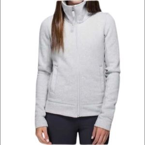 LULULEMON En Route Vented Jacket Light Grey